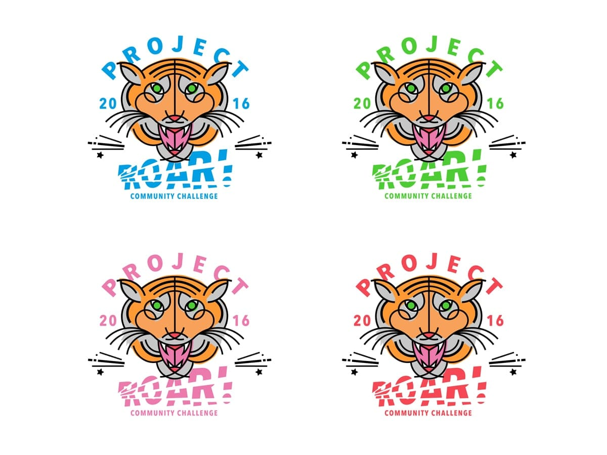 ROAR colours