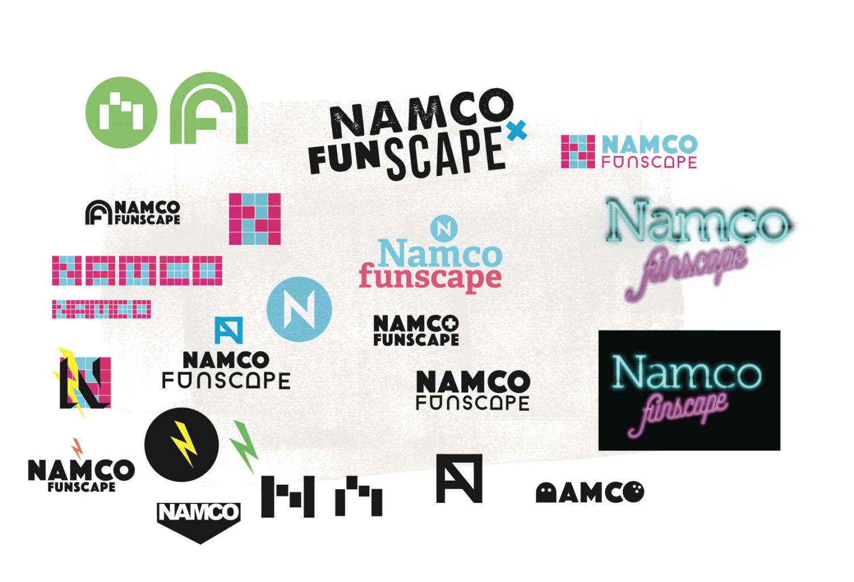 Namco Funscape Brand development