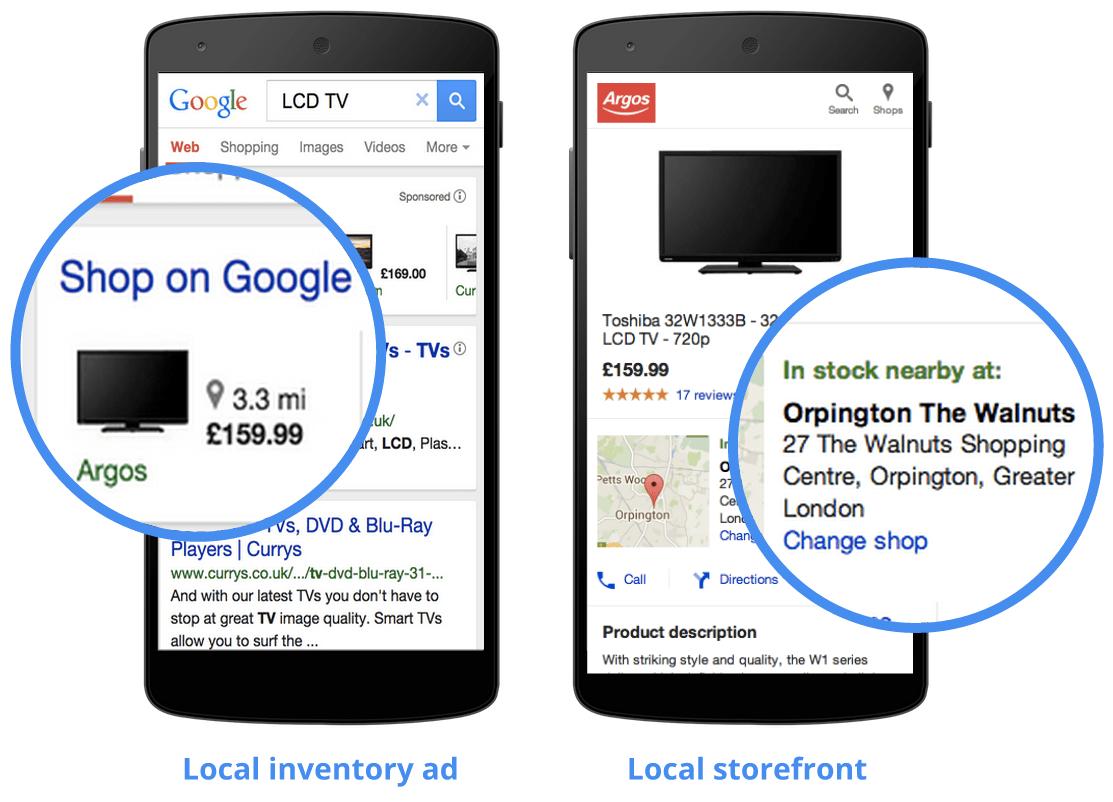 Google Local Inventory Ads
