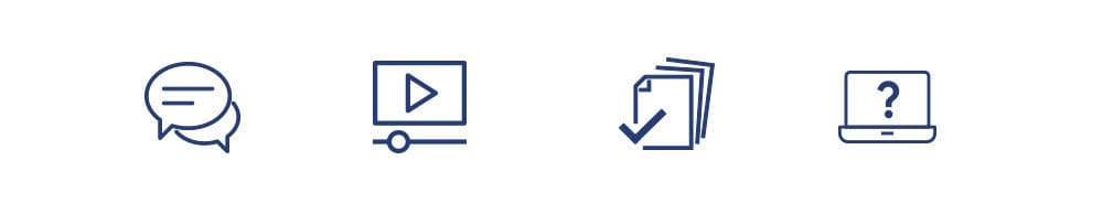 Icons created for the Open Banking website