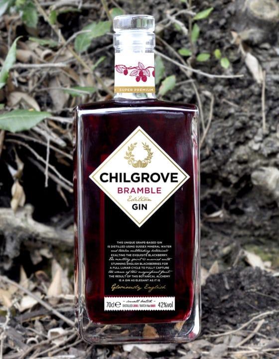 Visual of Chilgrove bramble gin