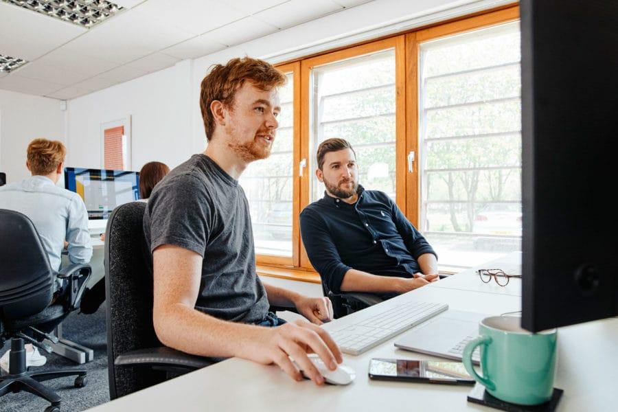web-developer-rob-coding-a-website